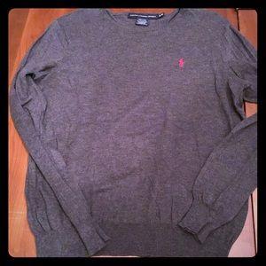 Ralph Lauren Sport- Grey Sweater XL